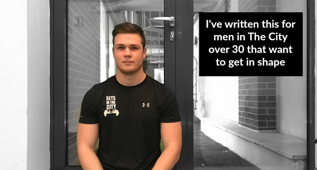 Written For Men In The City Over 30 That Want To Get In Shape